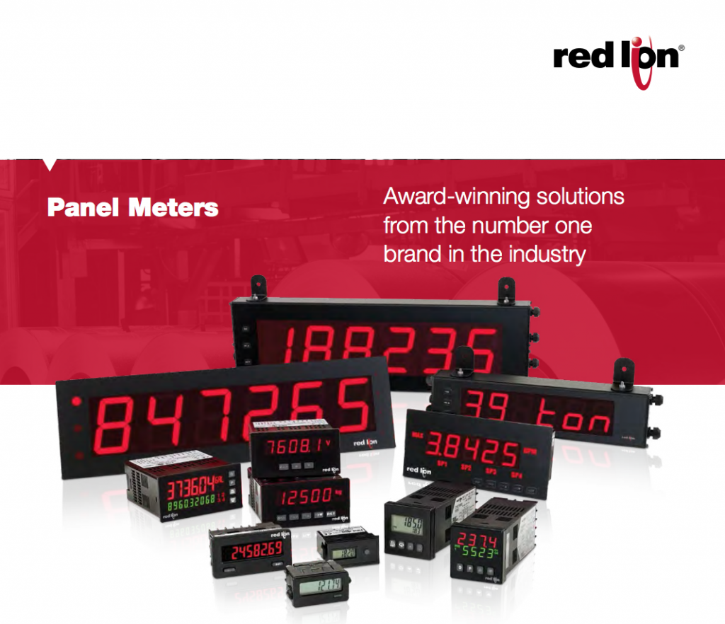 Red Lion Panel Meters
